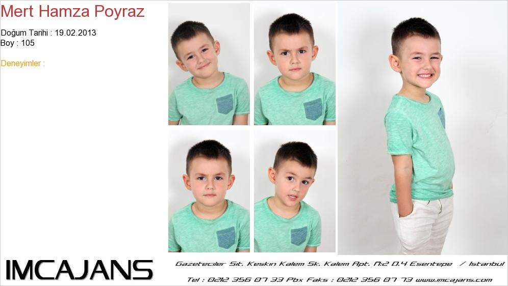 Mert Hamza Poyraz - IMC AJANS