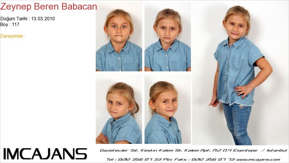 Zeynep Beren Babacan - IMC AJANS