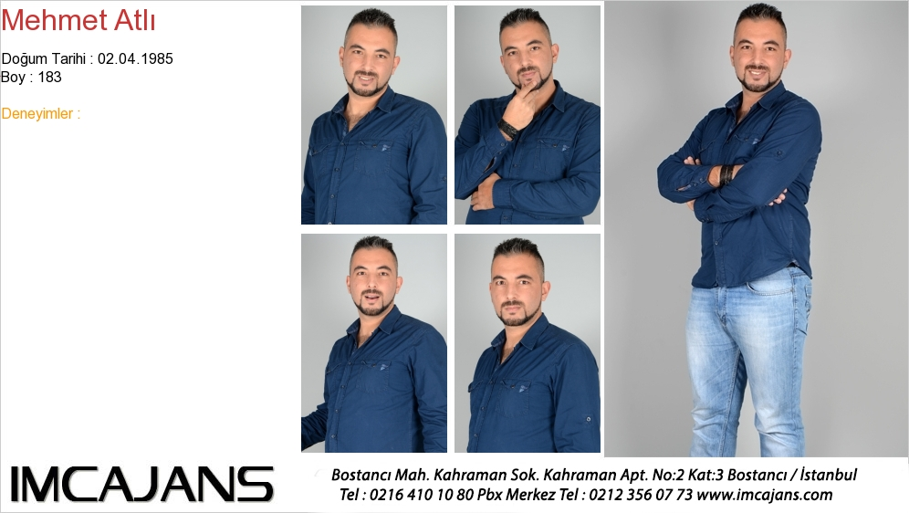 Mehmet Atlý - IMC AJANS