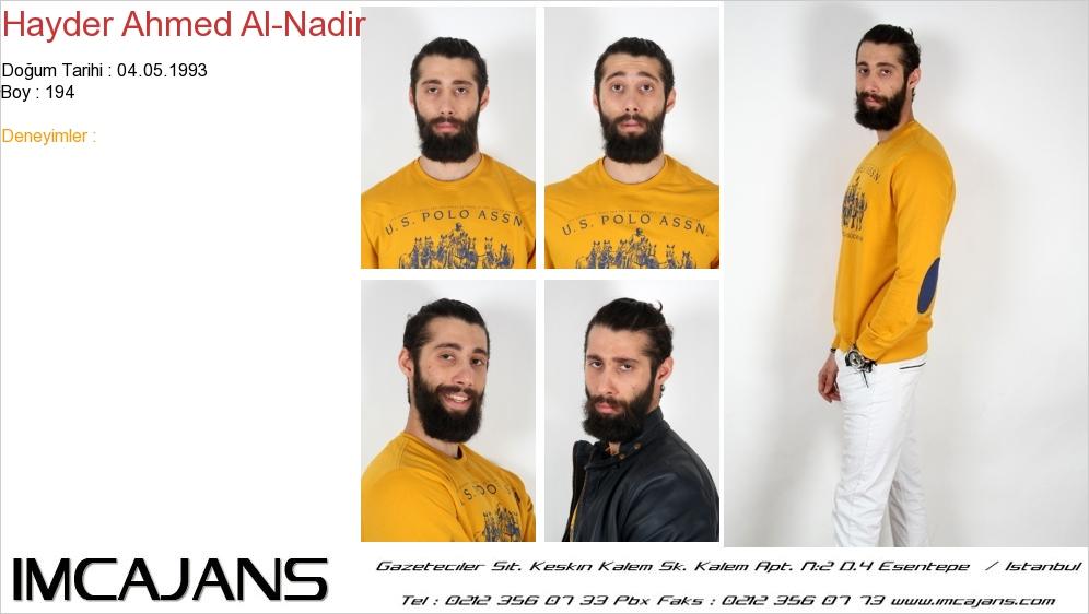 Hayder Ahmed Al-Nadir - IMC AJANS