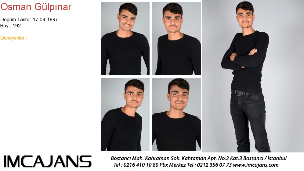 Osman Gülpýnar - IMC AJANS