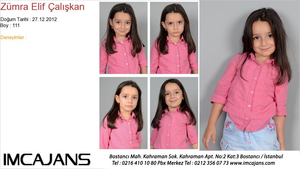 Zümra Elif Çalýþkan - IMC AJANS