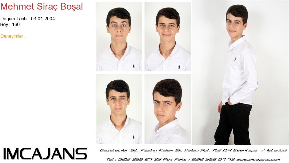 Mehmet Siraç Boþal - IMC AJANS