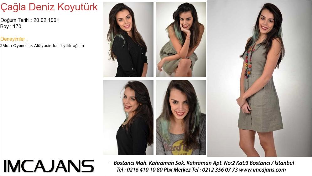 Çaðla Deniz Koyutürk - IMC AJANS