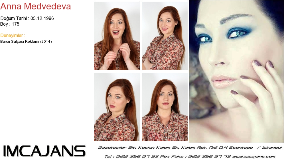 Anna Medvedeva - IMC AJANS