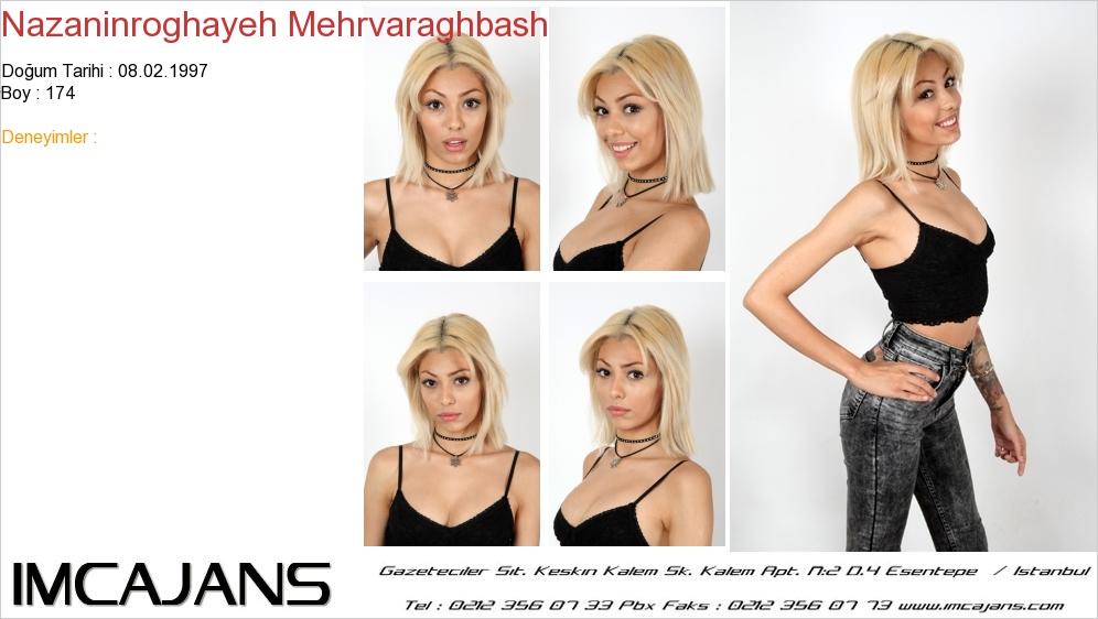 Nazaninroghayeh Mehrvaraghbash - IMC AJANS