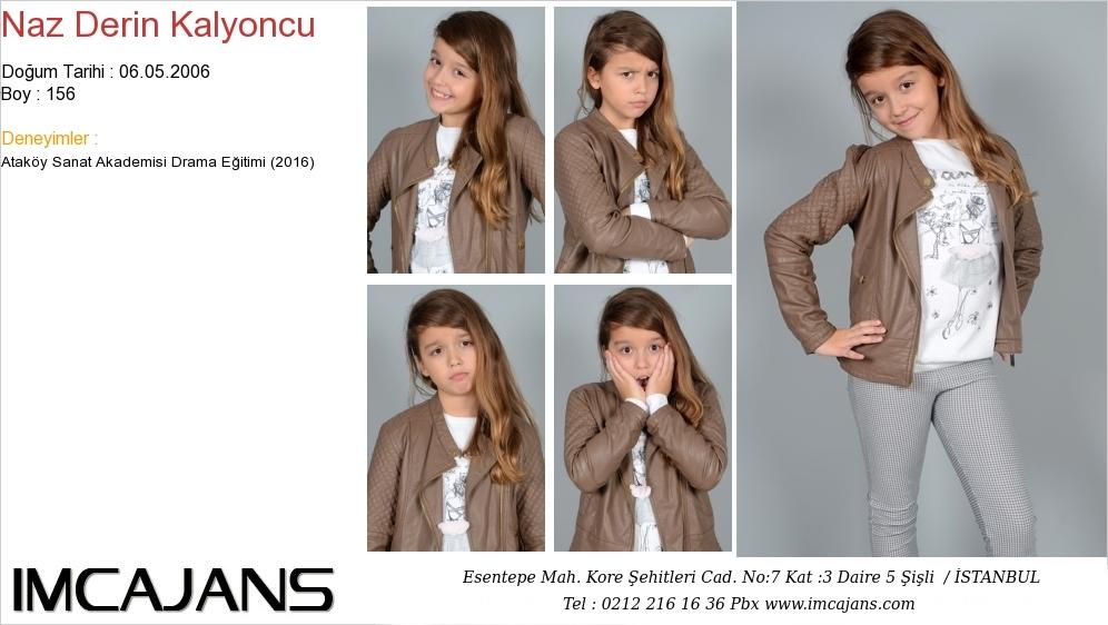 Naz Derin Kalyoncu - IMC AJANS