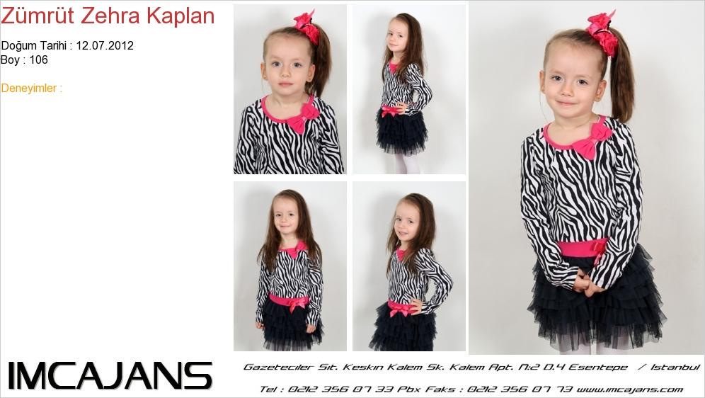 Zümrüt Zehra Kaplan - IMC AJANS