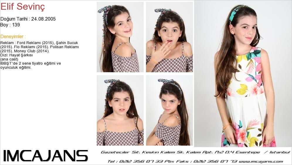 Elif Sevinç - IMC AJANS