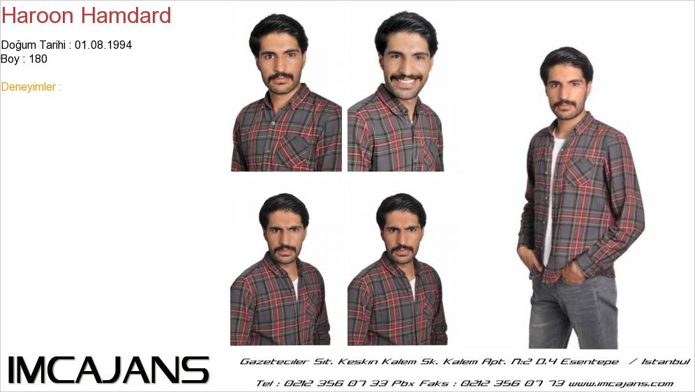Haroon Hamdard - IMC AJANS