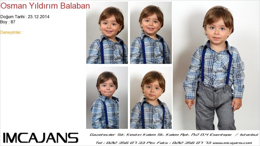 Osman Yýldýrým Balaban - IMC AJANS