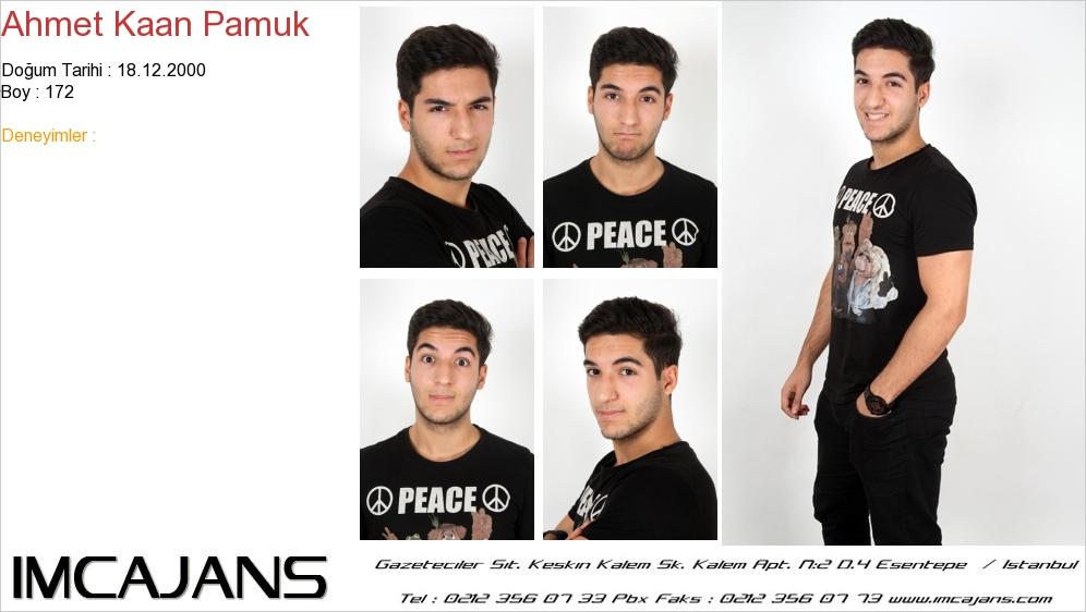 Ahmet Kaan Pamuk - IMC AJANS