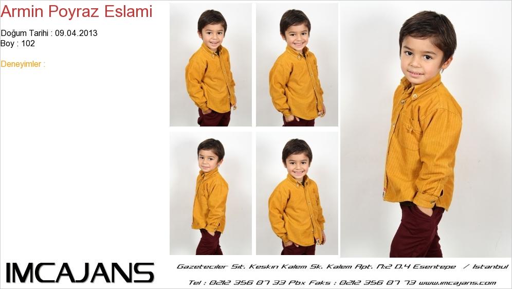 Armin Poyraz Eslami - IMC AJANS
