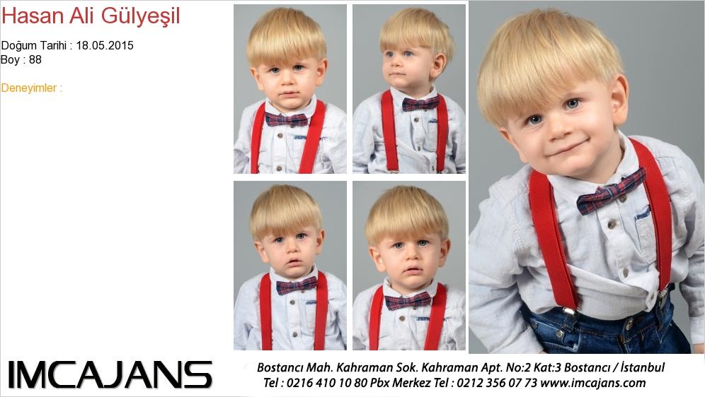 Hasan Ali Gülyeþil - IMC AJANS