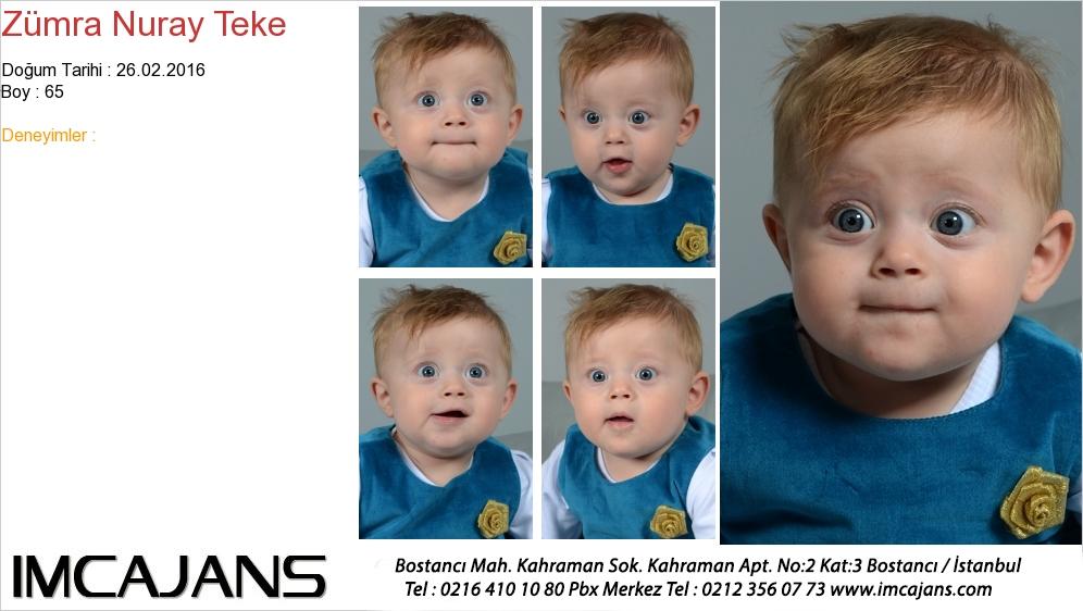 Zümra Nuray Teke - IMC AJANS