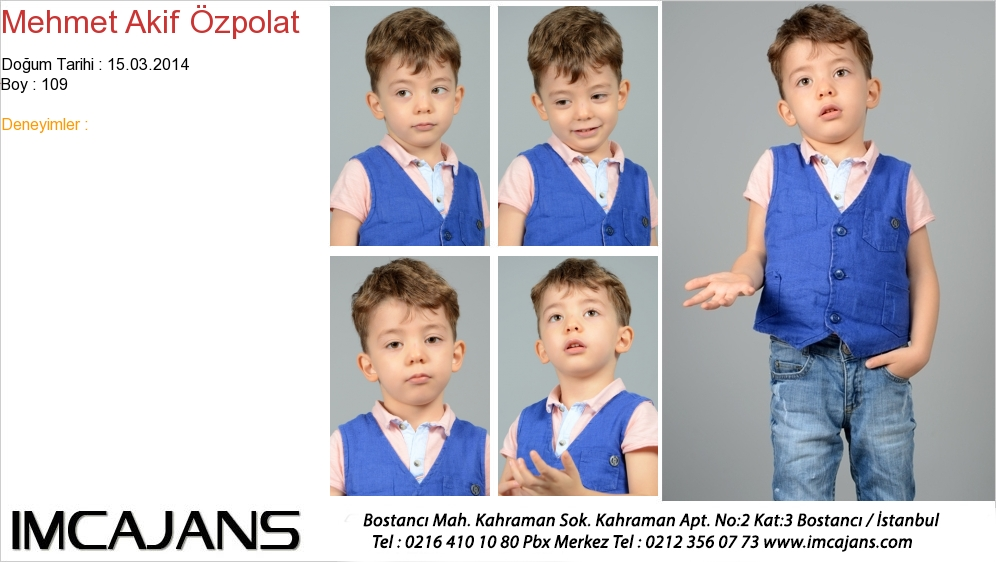Mehmet Akif Özpolat - IMC AJANS