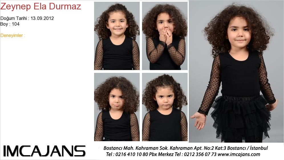 Zeynep Ela Durmaz - IMC AJANS