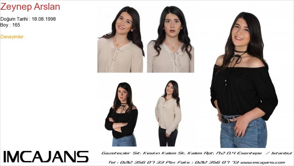 Zeynep Arslan - IMC AJANS