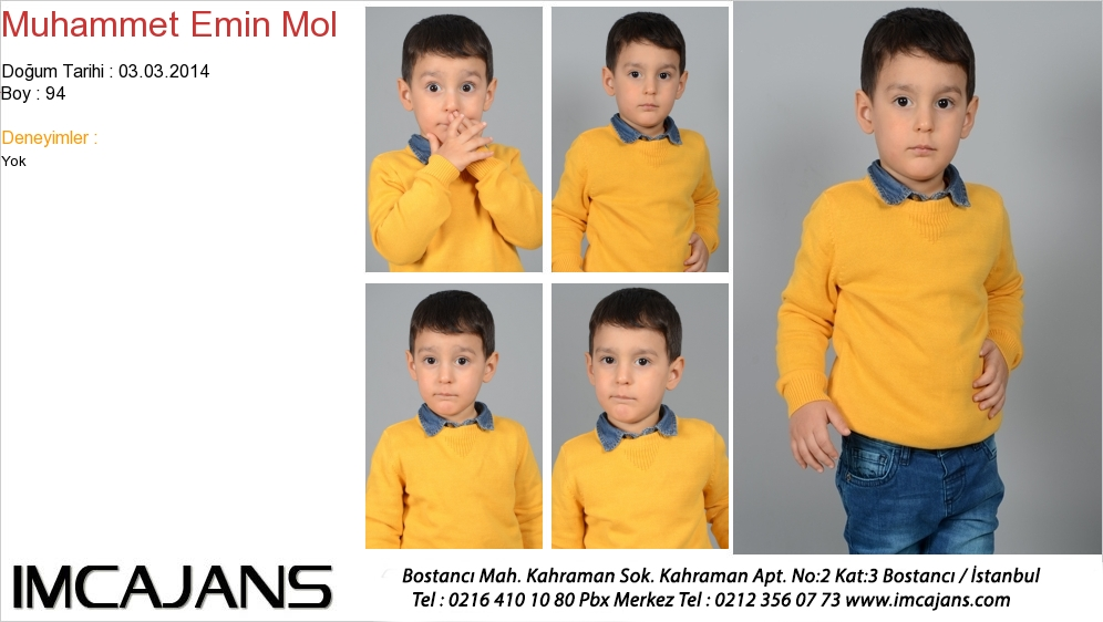 Muhammet Emin Mol - IMC AJANS