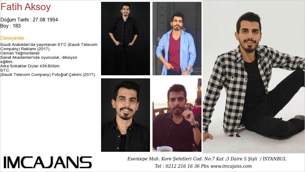 Fatih Aksoy - IMC AJANS