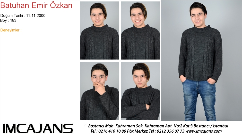 Batuhan Emir Özkan - IMC AJANS