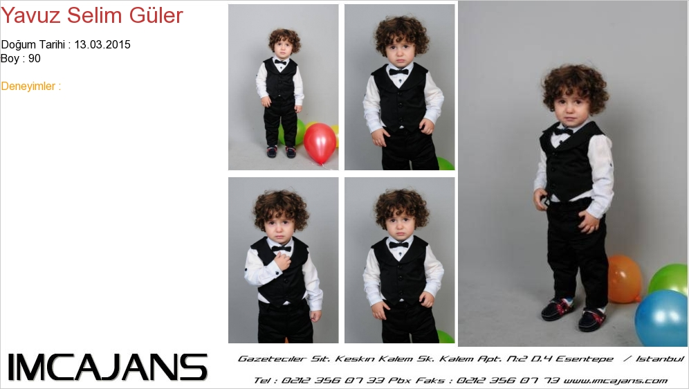 Yavuz Selim Güler - IMC AJANS