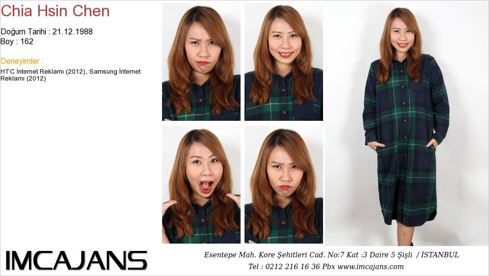 Chia Hsin Chen - IMC AJANS