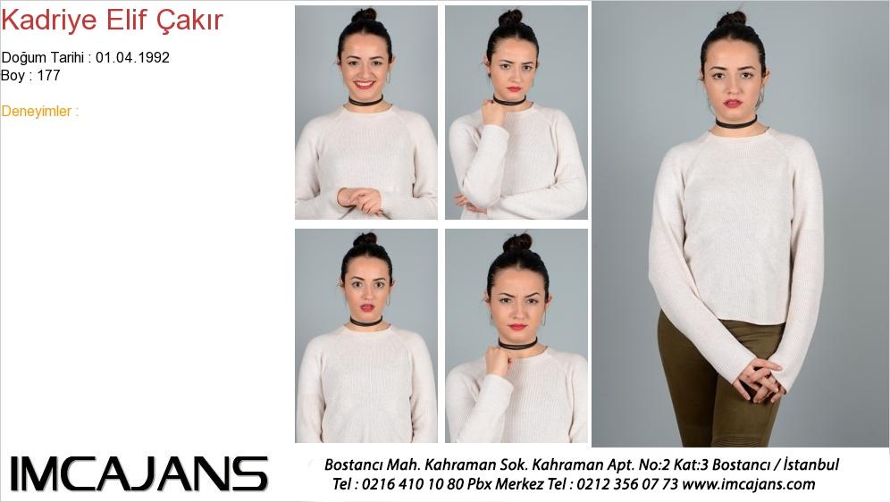 Kadriye Elif Çakýr - IMC AJANS
