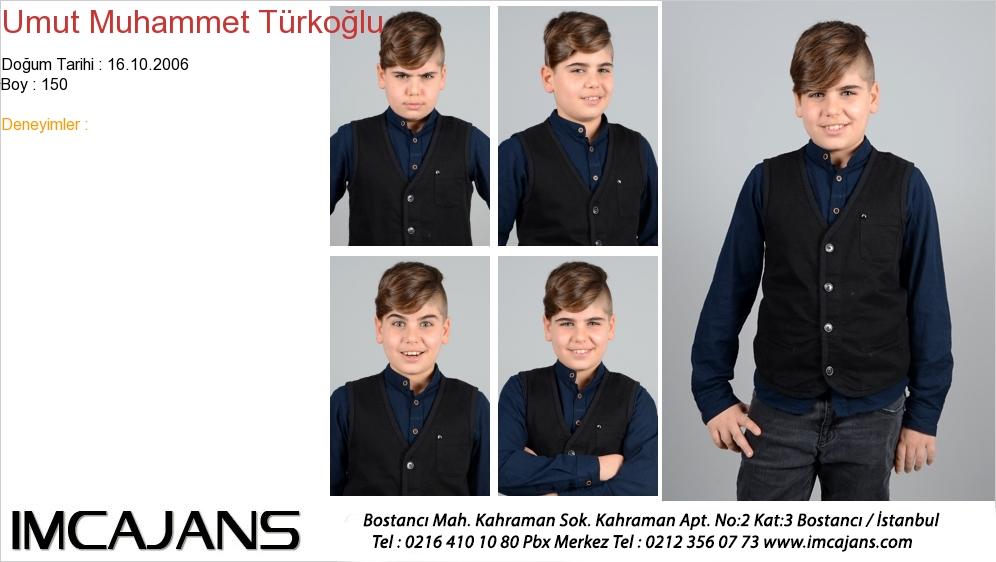 Umut Muhammet Türkoðlu - IMC AJANS