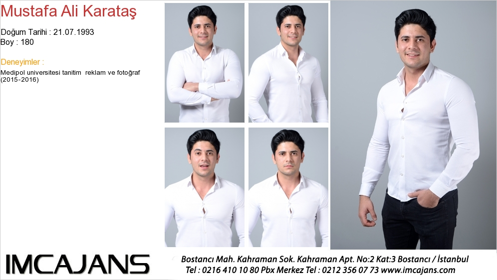Mustafa Ali Karataþ - IMC AJANS