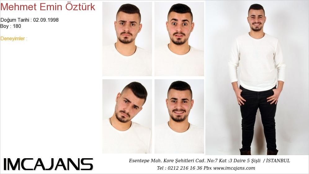 Mehmet Emin Öztürk - IMC AJANS