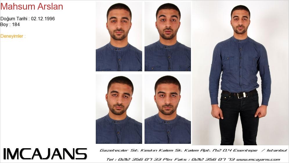 Mahsum Arslan - IMC AJANS