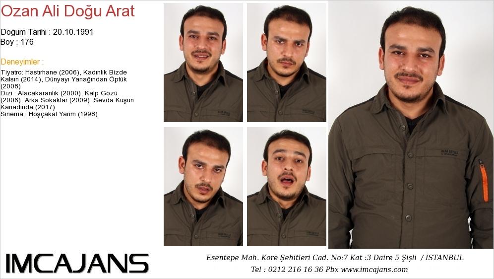 Ozan Ali Doðu Arat - IMC AJANS