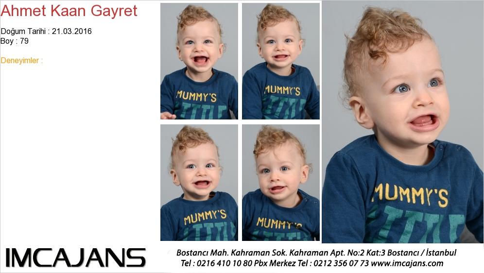 Ahmet Kaan Gayret - IMC AJANS
