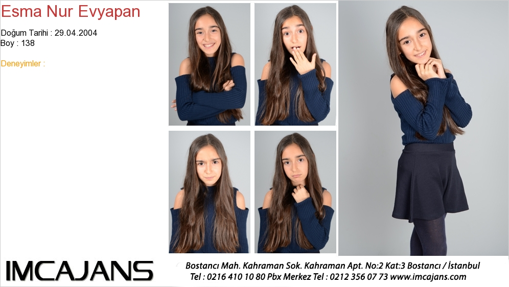 Esma Nur Evyapan - IMC AJANS