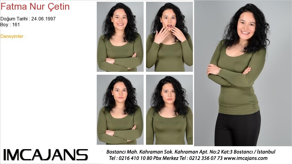 Fatma Nur Çetin - IMC AJANS