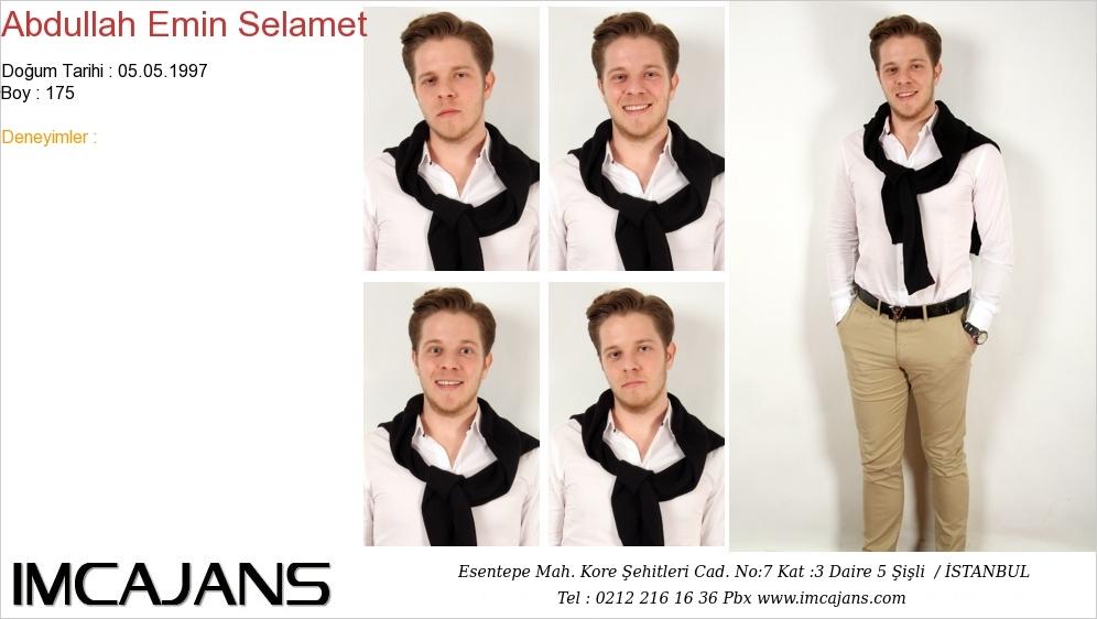Abdullah Emin Selamet - IMC AJANS