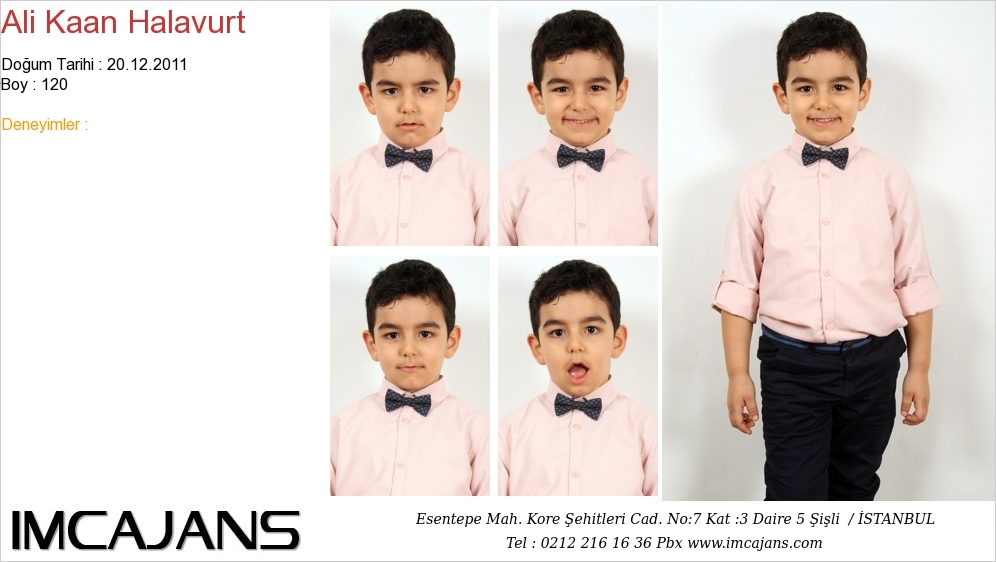 Ali Kaan Halavurt - IMC AJANS