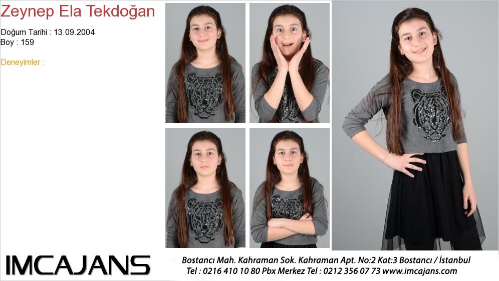 Zeynep Ela Tekdoðan - IMC AJANS