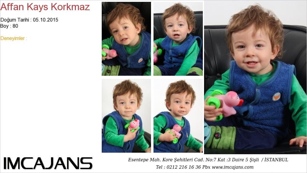 Affan Kays Korkmaz - IMC AJANS