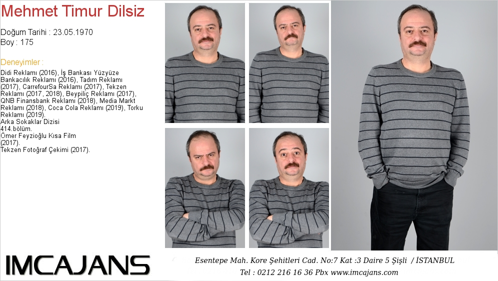 Mehmet Timur Dilsiz - IMC AJANS