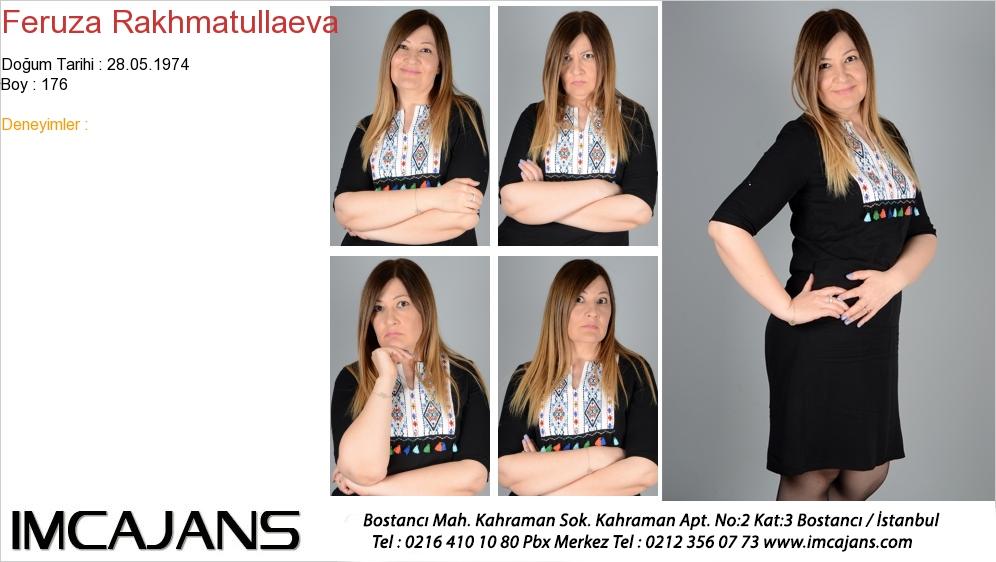 Feruza Rakhmatullaeva - IMC AJANS