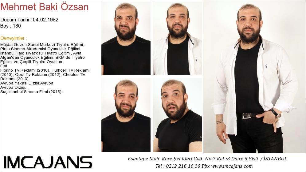 Mehmet Baki Özsan - IMC AJANS