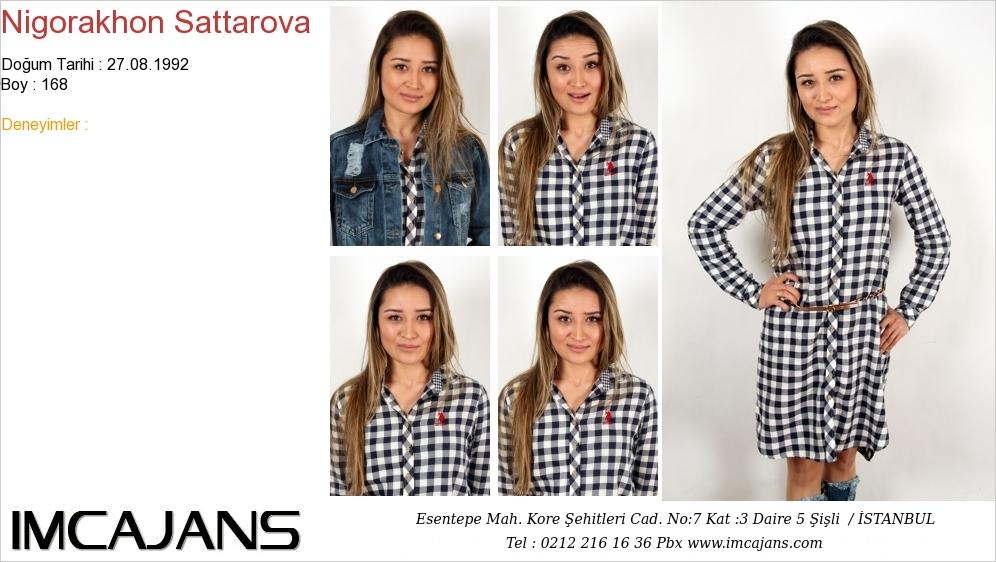 Nigorakhon Sattarova - IMC AJANS