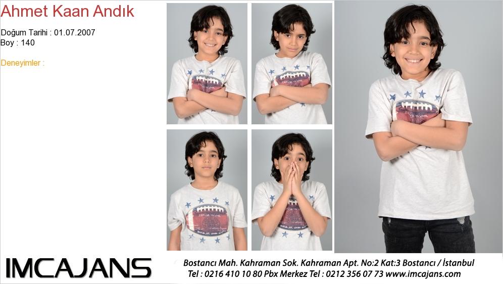 Ahmet Kaan Andýk - IMC AJANS