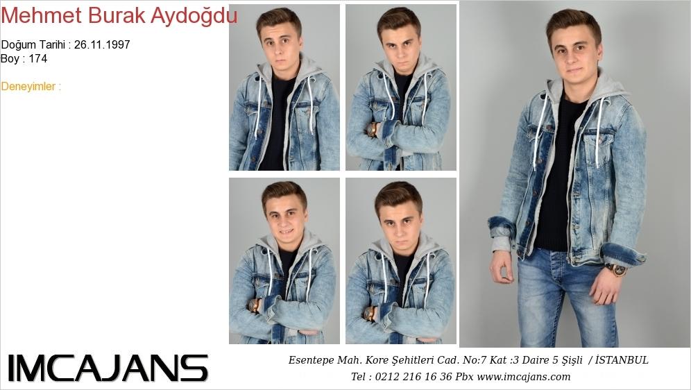 Mehmet Burak Aydoðdu - IMC AJANS