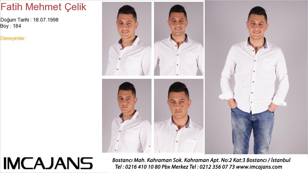 Fatih Mehmet Çelik - IMC AJANS