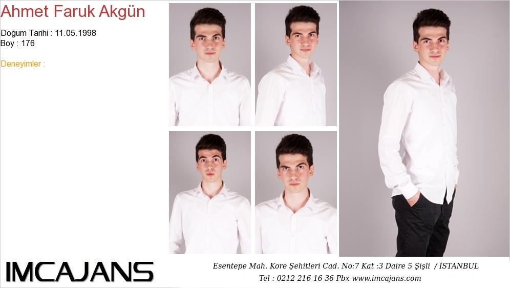 Ahmet Faruk Akgün - IMC AJANS