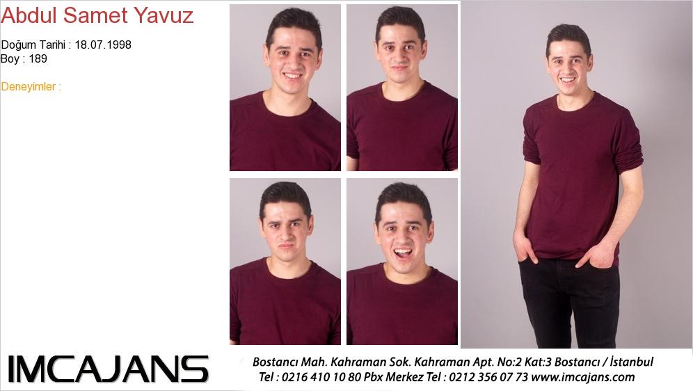 Abdul Samet Yavuz - IMC AJANS