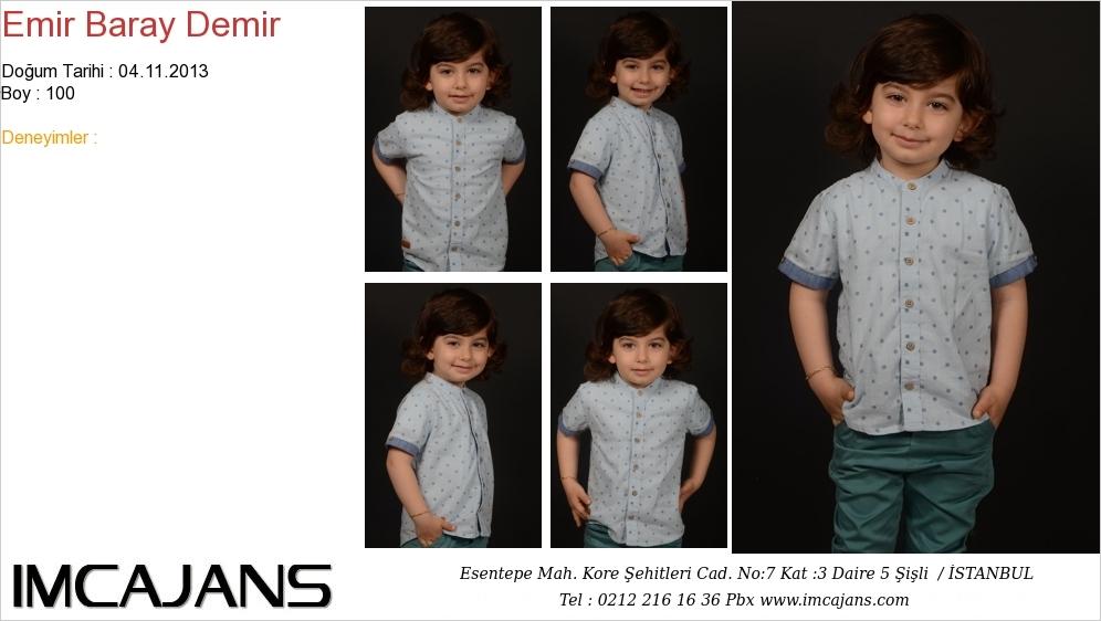 Emir Baray Demir - IMC AJANS